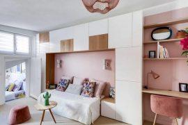 Không gian sống dành cho những cô nàng độc thân với căn hộ vẻn vẹn 28m2