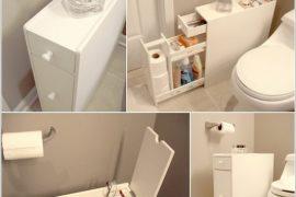 Những ý tưởng thông minh cho phòng tắm nhỏ đến mấy cũng vẫn gọn gàng