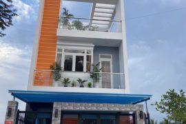 Nhà phố xây mới KĐT Five Star, liền kề Bình Chánh, 90m2, 1 trệt 2 lầu, sổ hồng riêng